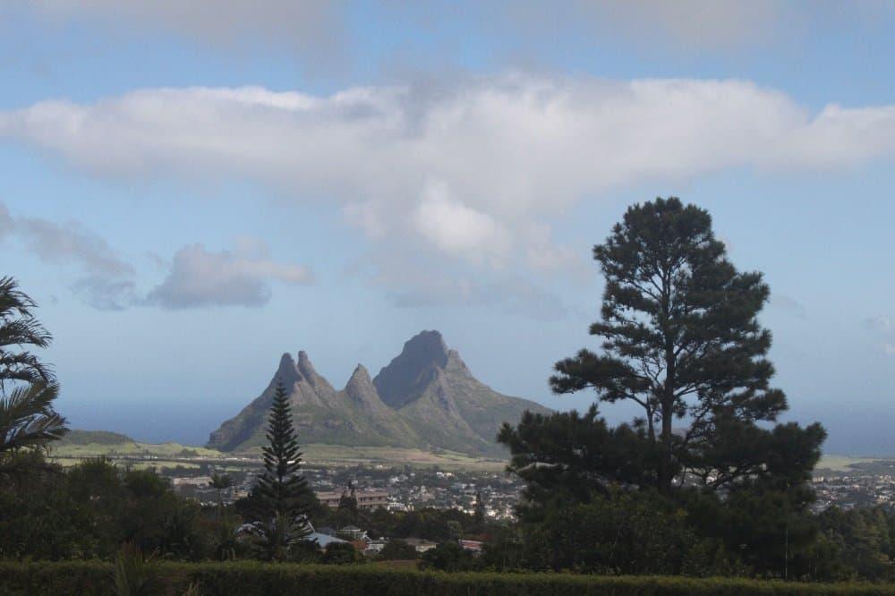 Reizvolle Landschaft im Süden Mauritius