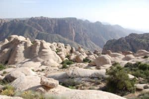 Die Wüste Dana