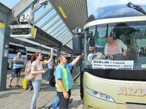 Von Berlin nach Bulgarien - eine der vielen gefragten Busverbindungen vom ZOB aus