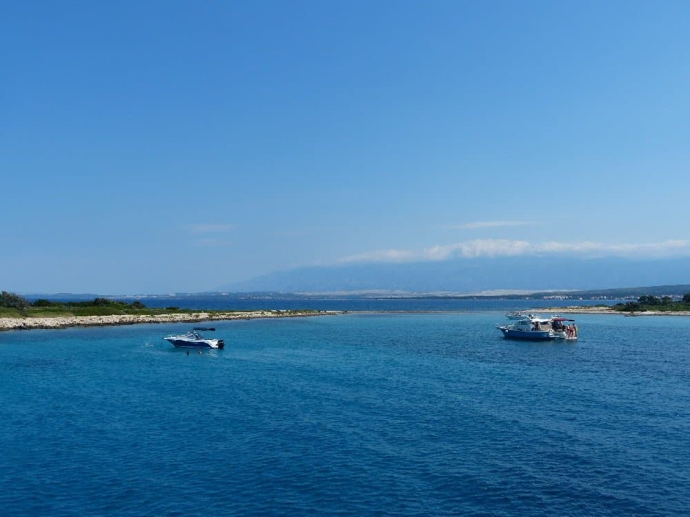 Eine Bade-Bucht