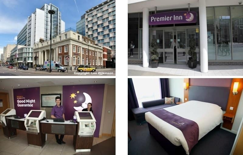 Premier Inn Hotel London Waterloo