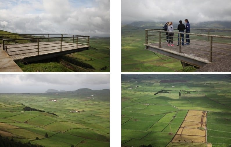 """Skywalk"" auf dem Miradouro da Serra do Cume"