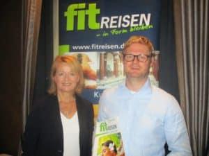 Die Geschäftsführer Claudia Wagner und Dr. Nils Asmussen stellten in Frankfurt die neuen Kataloge vor