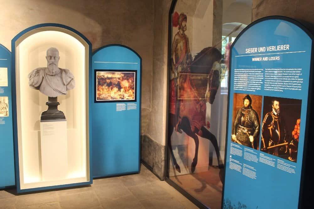 """Im neuen Museum """"Mühlberg 1547"""""""