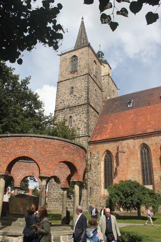 St. Nikolai ist das Wahrzeichen der Flämingstadt Jüterbog
