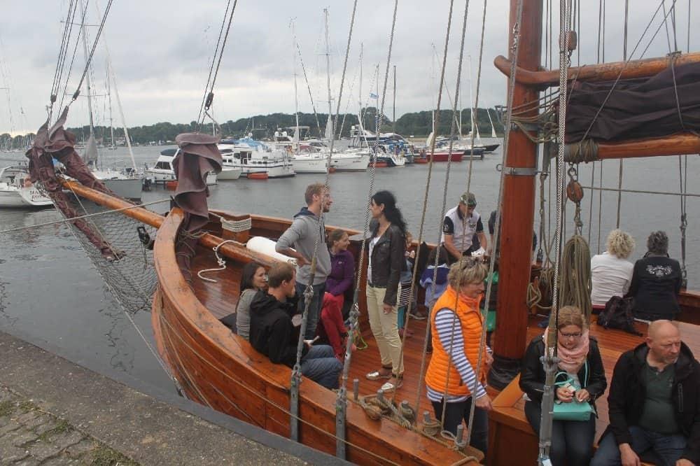 Leben an Bord eines Segelschiffs