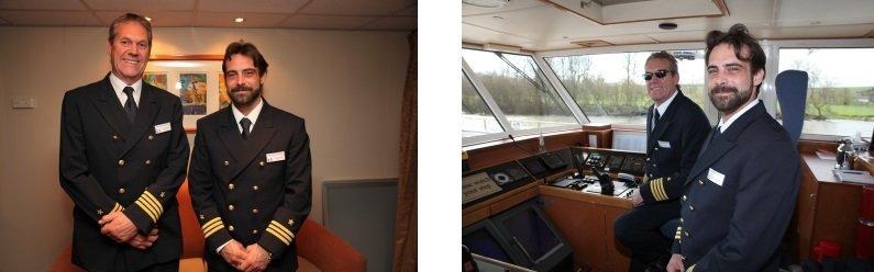 Interview mit den Kapitänen