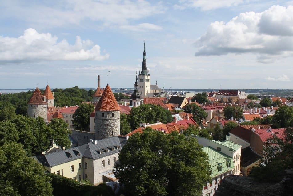 Tallinner Altstadt-Panorama