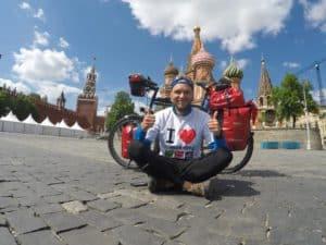 Vom Roten Platz in Moskau war Thomas Schröder schwer beeindruckt