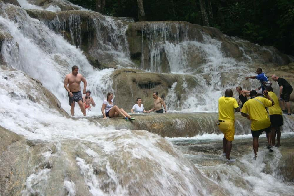 Dunn's River Falls in Ocho Rios Foto: Hans-Peter Gaul