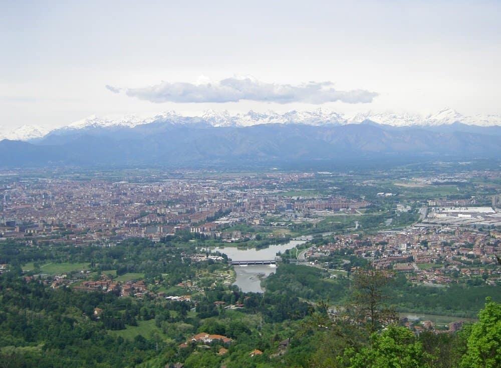 Blick über Turin