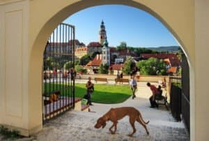 Blick auf die Stadt