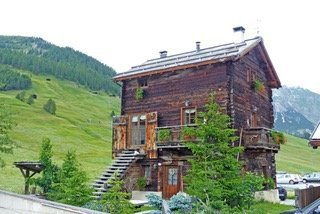 Typisches Wohnhaus