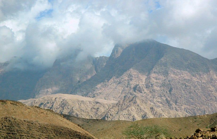Imposante Bergwelt des Oman Foto: Dr. Harald Schmidt