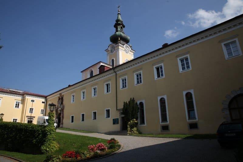 Die Stiftskirche im Kloster Aigen-Schlägel.
