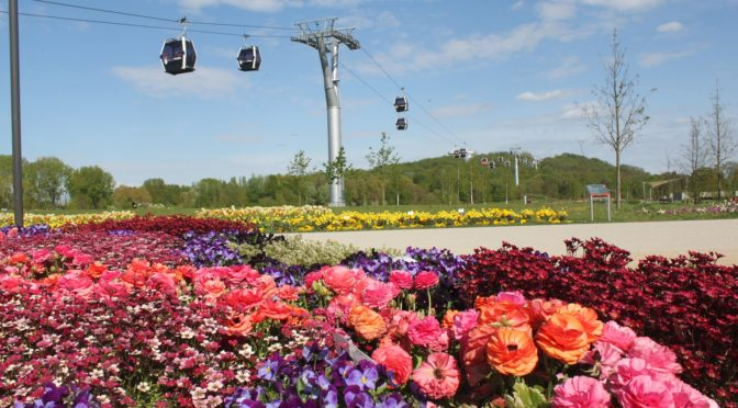 CTOUR vor Ort: Mit der Seilbahn zum internationalen Gartenfestival in Berlin