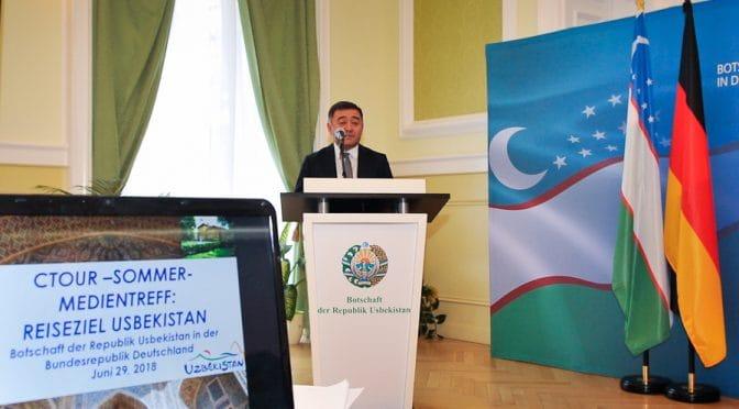 CTOUR-Medientreff: Usbekistan – 1001-Nacht-Romantik hautnah erleben