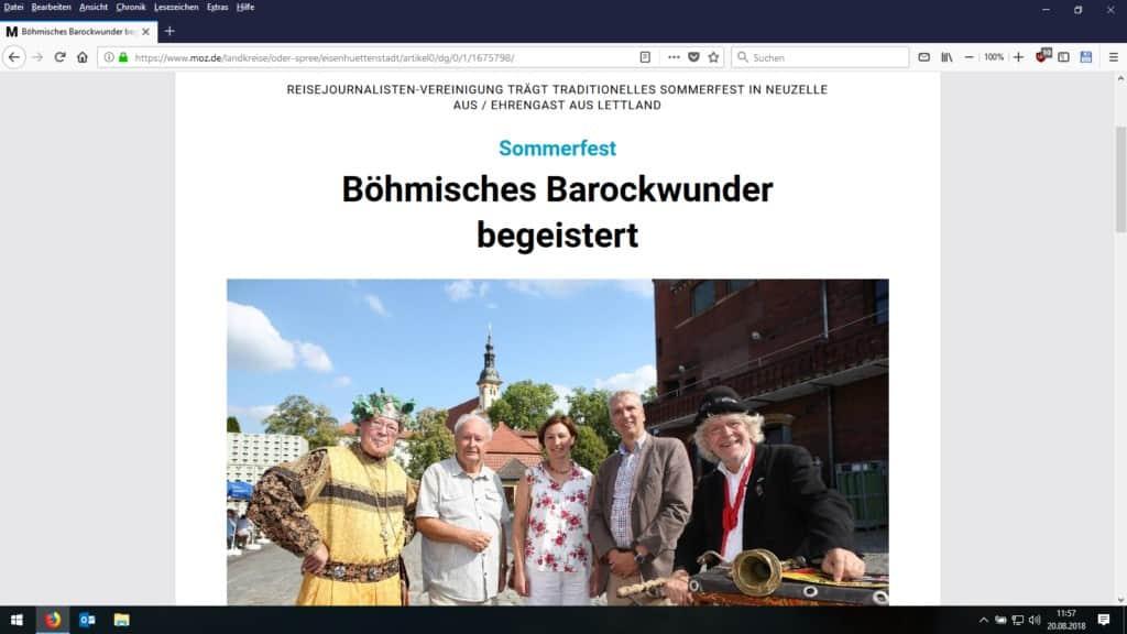 CTOUR-Sommerfest am böhmischen Barockwunder in Neuzelle 15