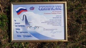 CTOUR VOR ORT: Schwerelos über Moskau - mit einer IL-76 ins All 10
