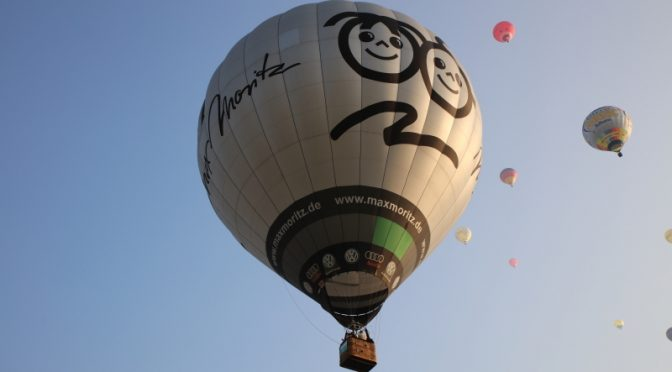 INTERNATIONALES BALLONFESTIVAL IN WARSTEIN 1