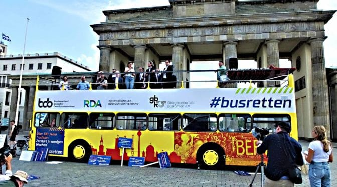 BUS-AKTIONSTAG IN BERLIN